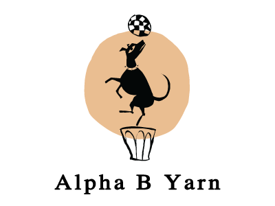 Alpha B yarns at For Yarn's Sake