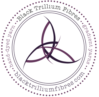 Black Trillium Fibres yarns at For Yarns Sake